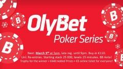 OlyBet Poker Series 09.03.2019 - JTV