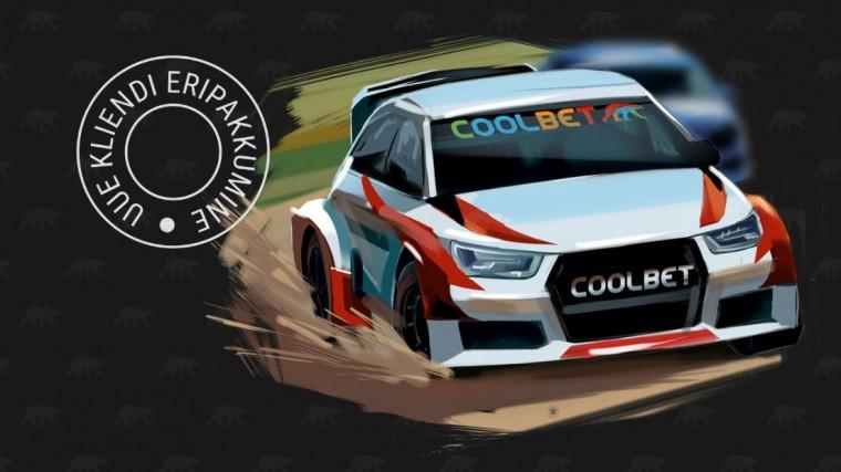 Coolbet annab uutele mängijatele 50-eurose riskivaba panuse WRC-le
