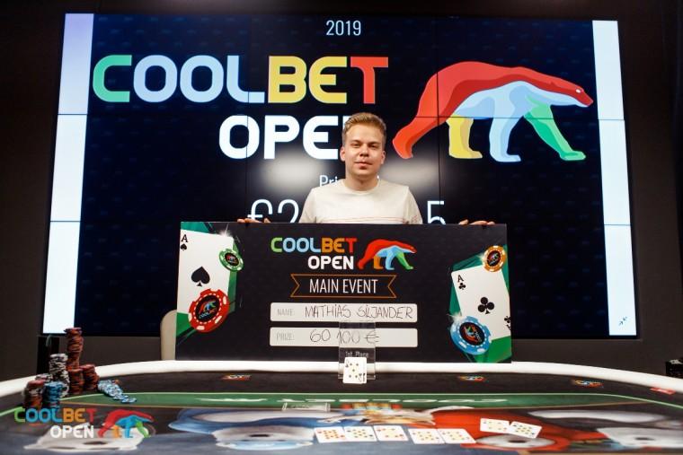 Coolbet Openi lõpetas Siljanderi ja Albertseni ulmetulemus, Tammel kaheksas