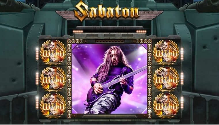 Rootsi power metal nüüd internetis: mängi slotimängu Sabaton!