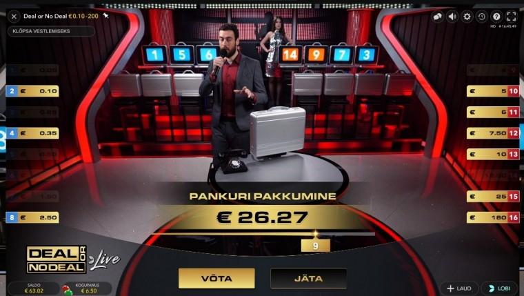 Võta või jäta: Menukast teleshow'st on saamas live-kasiinode uus superhitt!