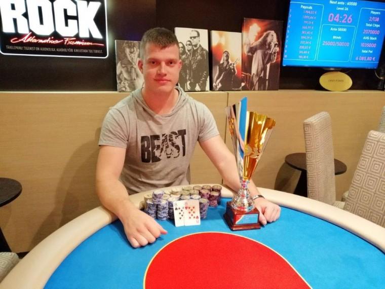 Martin Kõiv tituleeriti Tartu pokkeri meistrivõistluste kümnendaks meistriks!