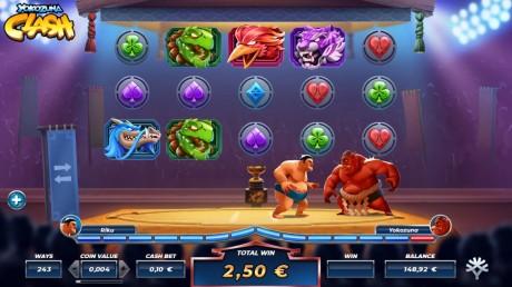 Uus ja uhke Yokozuna Clash: slotimängus toimuv sumoturniir!