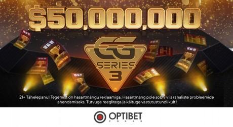 GG Series III põhiturniiril 12% overlay, eestlased tegid hea esituse