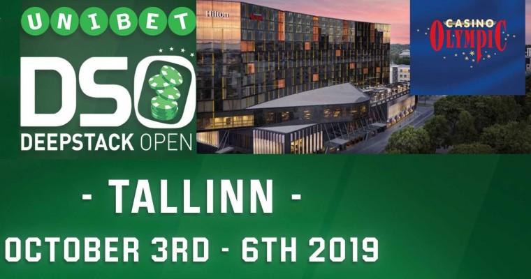 3.-6. oktoobril toimub Tallinnas suurfestival Unibet Deepstack Open