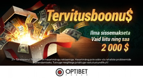 Optibeti pokkeritoa ja GG võrgustiku eripakkumised 2019. aasta oktoobris