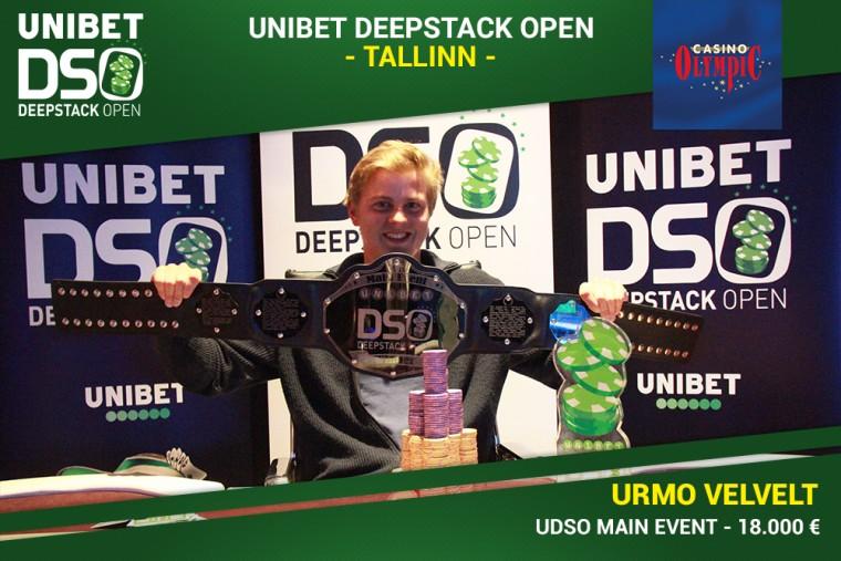 Eestlased võtsid Tallinnas toimunud Unibet DeepStack Openil kaksikvõidu