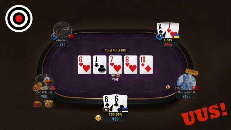 Short Deck Poker jõudis Optibeti, kõige kiirematele 125 000 eurone rahasadu!