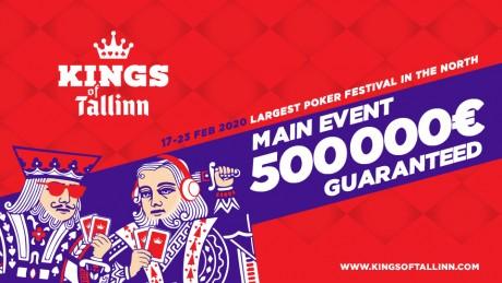 Olympic Casino garanteerib Kings of Tallinn festivali põhiturniiril 500 000€