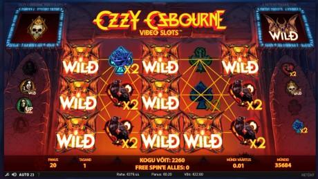 Ozzy Osbourne sai omanimelise slotimängu, saa kuni 100 tasuta spinni!