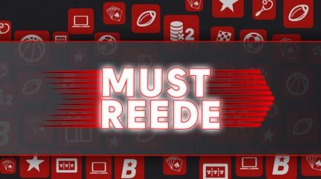 Must Reede OlyBetis: võimendatud koefid, tasuta keerutused, raha ja pokkeripilet