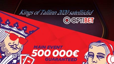 Suurfestivalile Kings of Tallinn saab kvalifitseeruda ka Optibetis