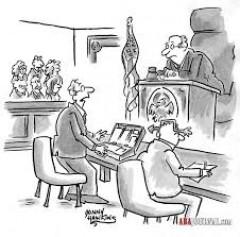 Palun vaikust kohtusaalis