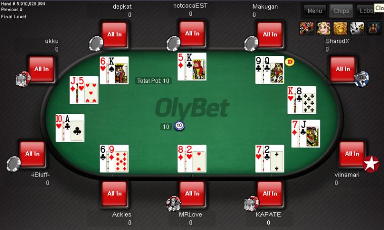 Oluline info Paf, Betsafe, Coolbet ja OlyBeti pokkerimängijatele