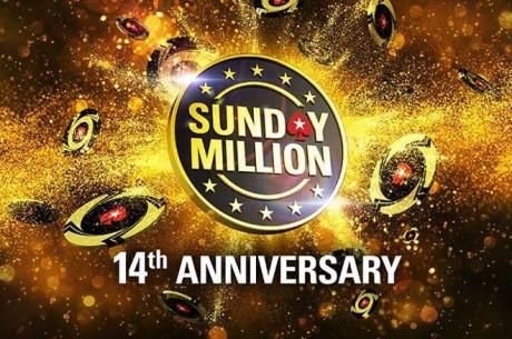 Pühapäeval toimub läbi aegade suurima auhinnafondiga Sunday Million turniir
