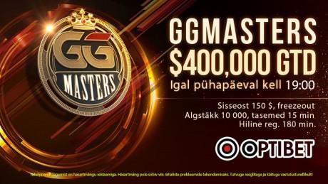 GG Masters suurendas garantiid, algab 9M$ GTD high-rollerite nädal
