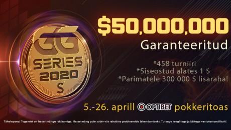 GG Series 4 avapäeval tuli Eestisse üks 16 636-eurone võit