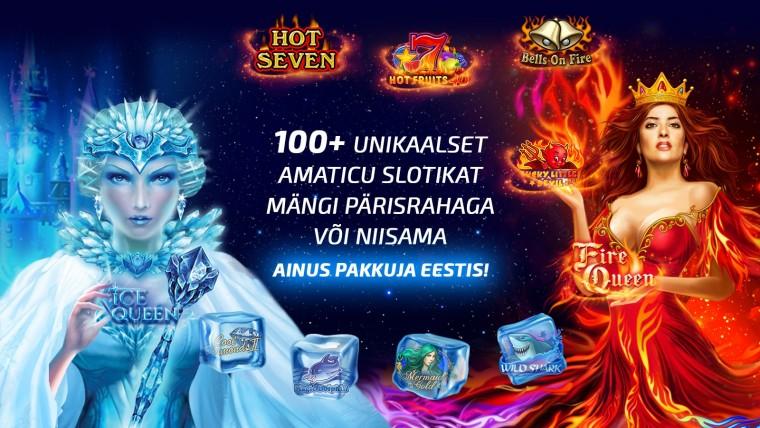 Võta oma pühadekingitus Eesti unikaalseimas online-kasiinos!