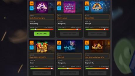 Vaata Coolbeti kasiinokalendrit ja tutvu uute mängudega
