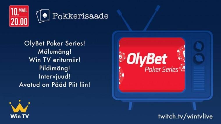 TÄNA LIVE: WIN TV pokkerisaade fookuses OPS mai karika väljamängimine
