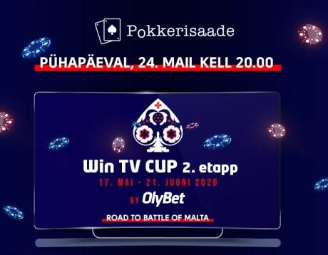 TÄNA LIVE: Jälgi mängu ja mängi kaasa Win TV Cup karikasarjas (auhinnamängud)