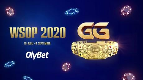 2020. aasta WSOP kuldse käevõru võid võita OlyBeti pokkeritoas