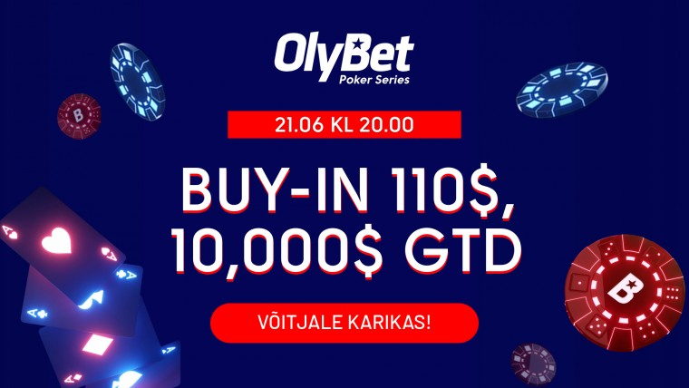 LIVE: Vaata täna hooaja viimast OlyBeti ja Win TV pokkerisaadet - fookuses OPS!