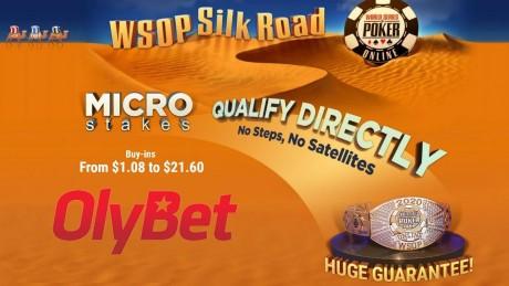 Hiiglaslikud garantiid: Võida WSOP Online pilet OlyBetis vaid ühe euroga!
