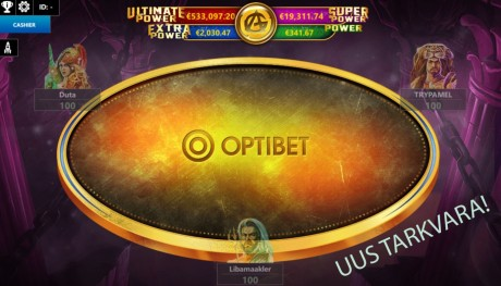 Optibet nüüdsest iPokeris: uued mängijad saavad 2000 EUROSE boonuse!