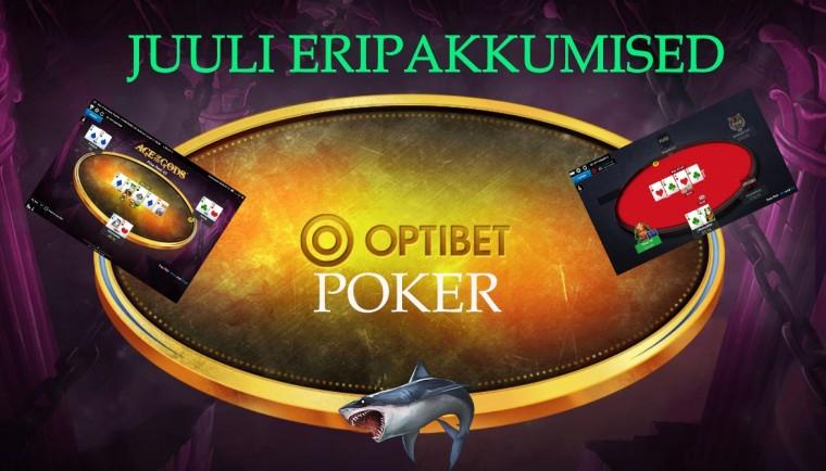 Optibet Poker uued eripakkumised: vägevad Twisterid + kuni 55% cashback!