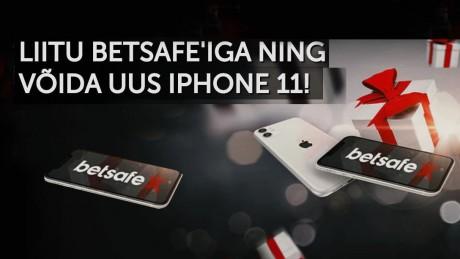 Vaid uutele Betsafe mängijatele: Liitu, tee sissemakse ja võida iPhone 11!