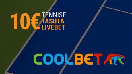 Saa Coolbetis iga päev 10-eurone tasuta panus US Openile!