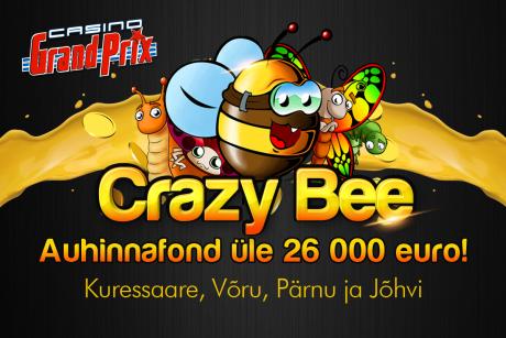 Casino Grand Prix mängijate vahel loositakse välja 26 400 eurot