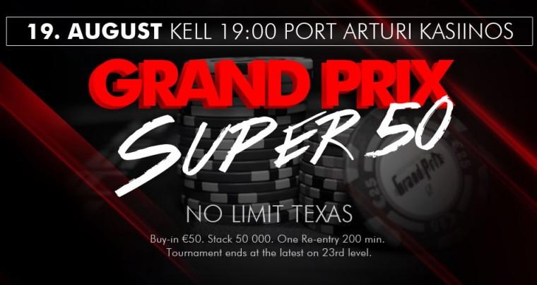 Reedel Pärnus - Grand Prix Super 50