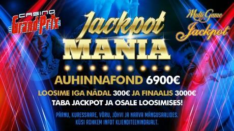 Viies Casino Grand Prix mängusaalis loositakse välja 6900 eurot