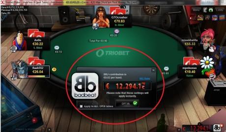 NL20 lauas Bad Beat Jackpoti tabanud Triobeti mängija teenis 11 307 eurot!