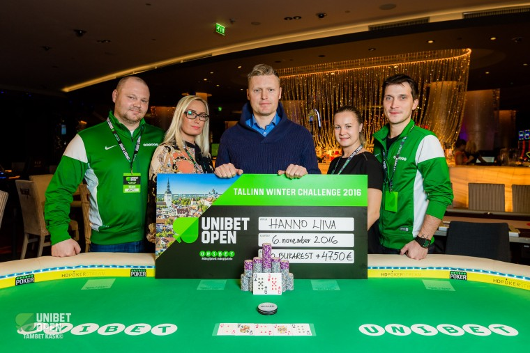 Unibet võõrustas Tallinnas kümneid VIP-kliente, turniirivõidud eestlastele!