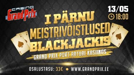 13. mail selgub esimene Pärnu meister Blackjackis, osalustasu vaid 33 eurot