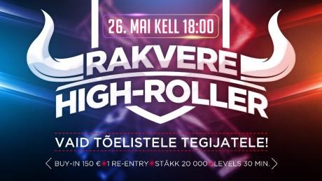 Casino Grand Prix korraldab 26. mail Rakveres erilise high-roller turniiri
