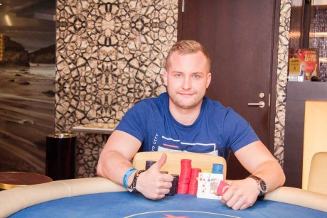 Grand Prix kasiinos toimunud Betsafe Live Pärnu võitis Raul Kukk