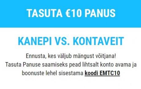 Coolbet annab uutele mängijatele 10-eurose panuse Kontaveit vs. Kanepi matšile