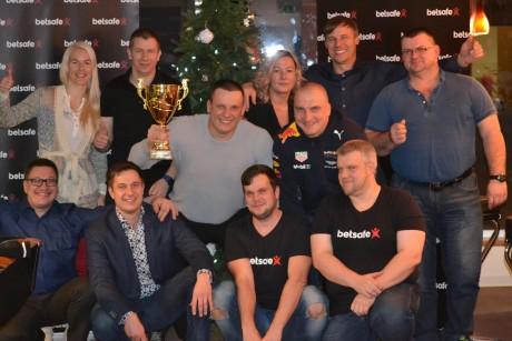 Betsafe Pokkerikarikas 2017 lõppes Põlva pokkeriklubi kindla võiduga