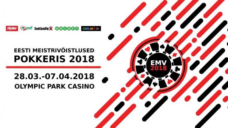 Tänavused Eesti pokkerimeistrid selguvad 28. märtsist kuni 7. aprillini