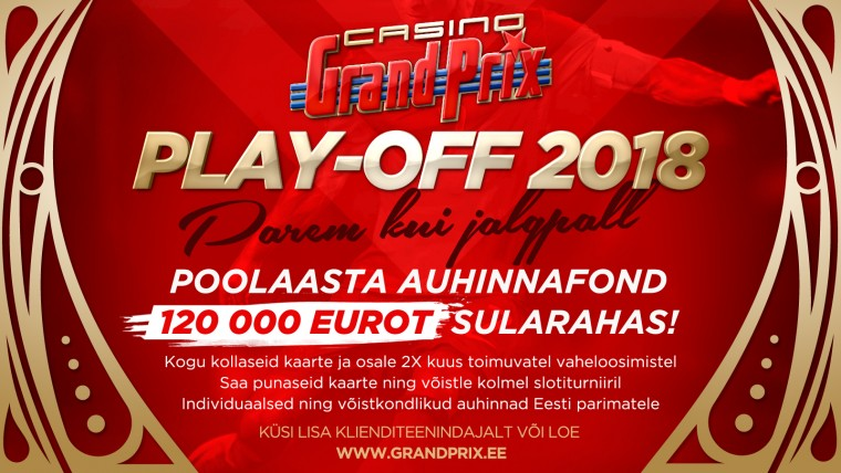 Casino Grand Prix alustas 120 000-eurose auhinnafondiga slotikampaaniat