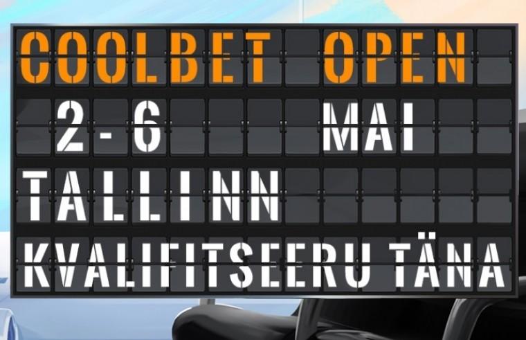 Algavad live-satelliidid Coolbet Openile: täna viis €550 piletit GTD!