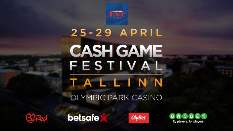 Cash Game Festival naaseb aprilli lõpus kodulinna