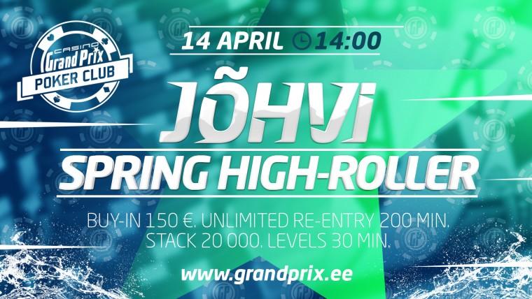 Laupäeval toimub Ida-Eesti suurimas kasiinos esimene Jõhvi High-Roller