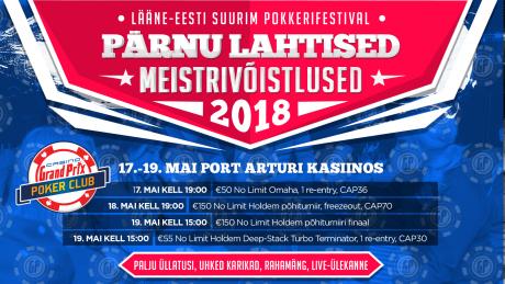 Pärnu MV toimuvad 17.-19. mail, oodatakse üle 10 000 eurost auhinnafondi!