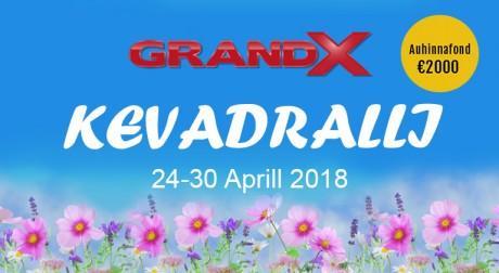 Täna algab GrandX kasiinos nädal aega vältav kevadralli