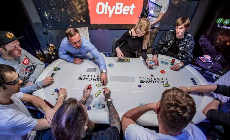 Jälgi Cash Game Festival Tallinn telelaua vahendusel ja saa freerolli parool